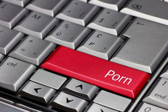 Computer Key - Porn
